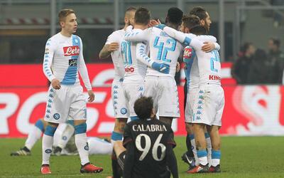 Nápoles vs. Milán