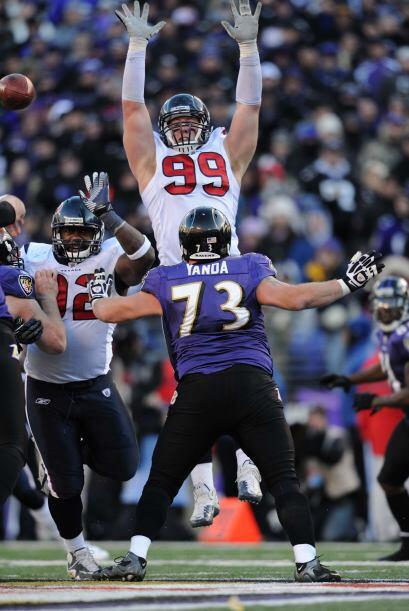 #12 DEJ.J. Watt, Houston Texans (AP-NFL).