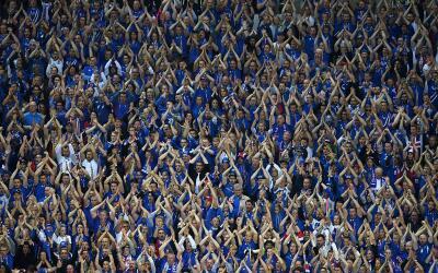 Los seguidores de Islandia fueron la sensación de la Euro 2016.