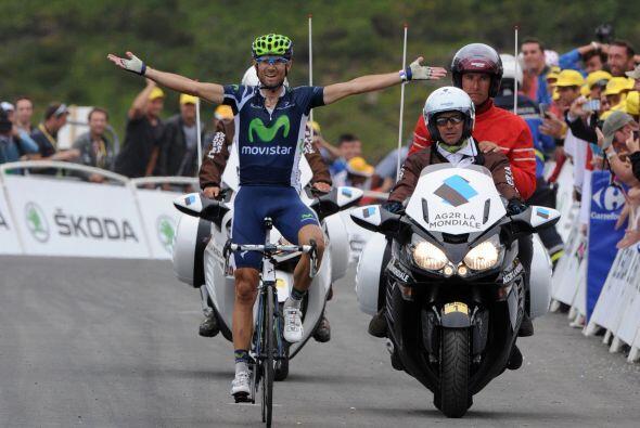 Valverde sumó la quinta victoria de la temporada, la de su regres...