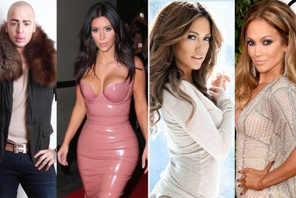 Kim Kardashian, Barbie, Jennifer Lopez y más populares personajes...