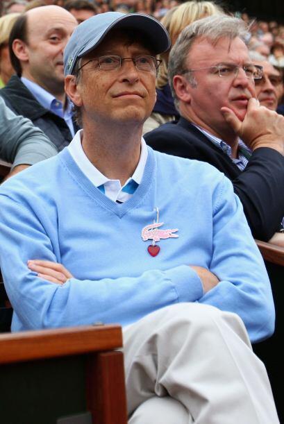 Los que completan el Top Ten son: 3. Bill Gates, el magnate de Microsoft...