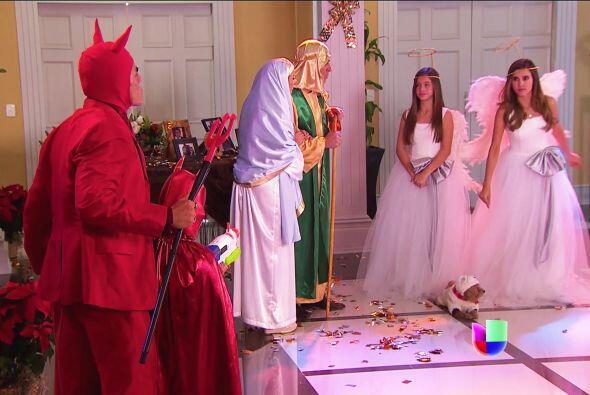 Las angelitas Fanny y Alicia no dejarán que nada les pase.