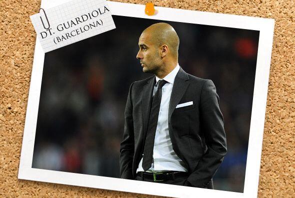 Nuestro técnico es el español Josep Guardiola, ¿o no les parece que se l...