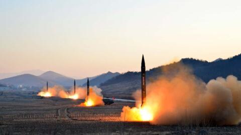 La más reciente prueba de misiles en Corea del Norte desencaden&o...