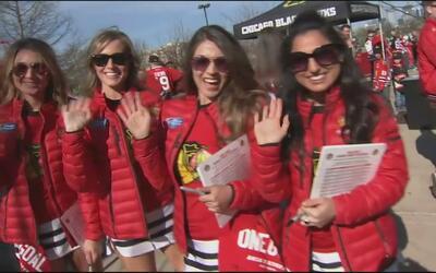 Los Chicago Blackhawks sienten el apoyo de sus fans