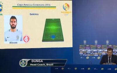 Dunga definió a los 23 jugadores de Brasil que disputarán la Copa Améric...