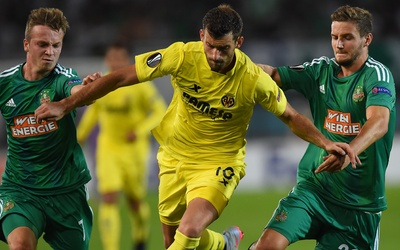 El Rapid de Viena superó al Villarreal en Europa League.