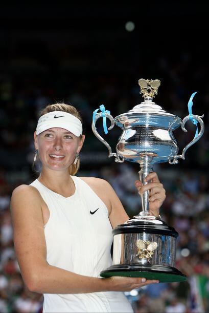 Y el Abierto de Australia en el 2008, logrando 3 títulos de Grand Slam e...
