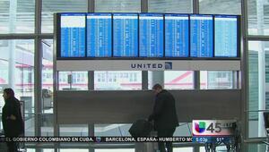 Decenas de vuelos cancelados en Houston