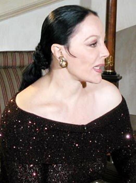 """SASHA MONTENEGRO Y JOSÉ L""""PEZ PORTILLO  - El romance entre la actriz de..."""