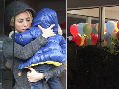 El bebé de Shakira y Gerard Piqué cumplió un a&ntil...