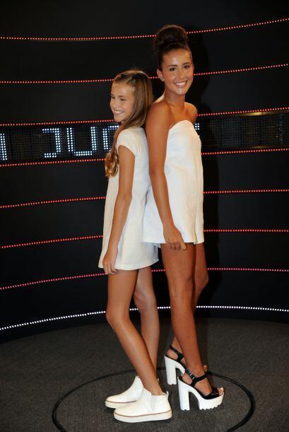 Nicole Tacher y Hannah Tacher