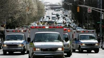 Los vehículos de emergencia suelen poner nerviosos a algunos automovilis...