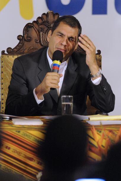 En medio de su virtual secuestro, Correa había advertido que &quo...