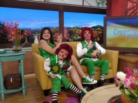 Lapizín, Gomita y Lapizito llegaron a Despierta América pa...