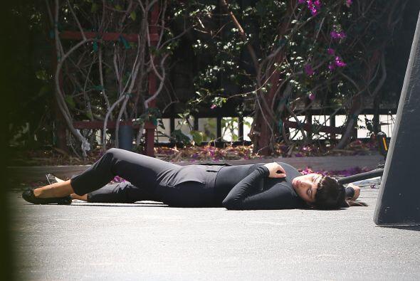 Terminó muerta después de la larga sesión. M&aacute...