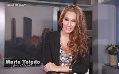 María Toledo recibió con sorpresa sus nominaciones a Latin GRAMMY.