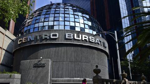 Instalaciones de la Bolsa Mexicana de Valores de México