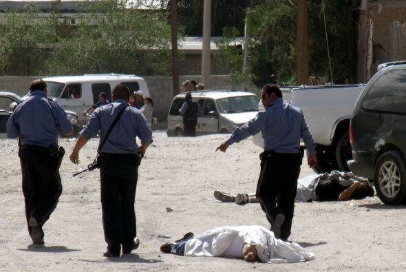 El presidente Felipe Calderón dijo que los homicidios relacionados con l...
