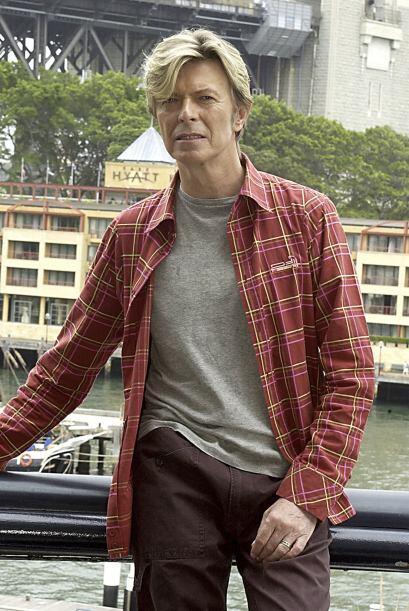 Pero, de vez en cuando, a Bowie le gusta salir a la calle más cas...