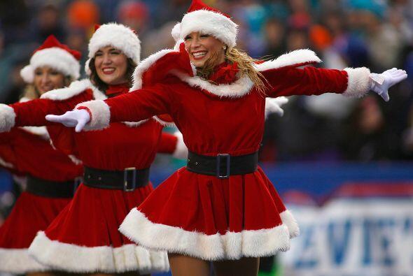 ¡Estas mamacitas celebraron la Navidad desde la cancha! Sin importa el f...