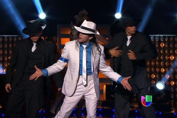 Michael Jackson se enfrentó a Margarita, la Diosa de la Cumbia.