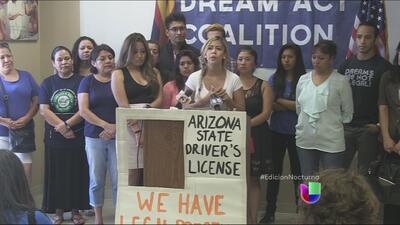 Los Dreamers podrán tener licencia de conducir en Arizona