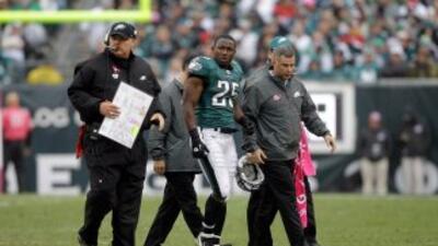 Andy Reid ha sido el único entrenador de LeSean McCoy en la NFL.