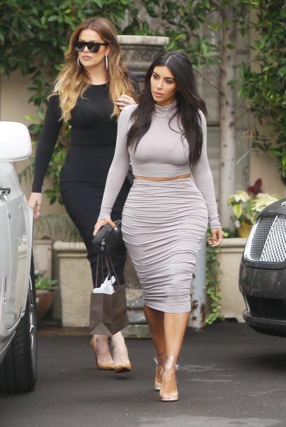 No debe ser sencillo tener una hermana como Kim.