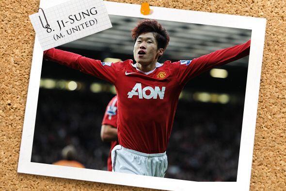 Otro tipo que no es un típico '9' pero sabe marcar goles es Park...