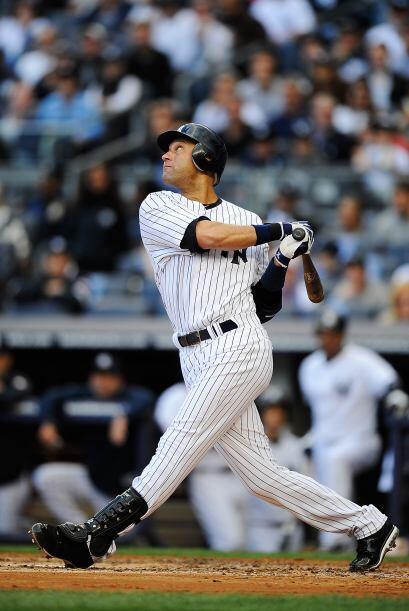 El símbolo de los Yankees, Derek Jeter, se fue de 5-0 en una tarde paupé...