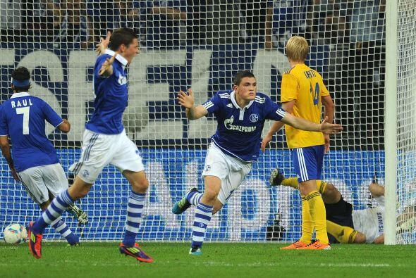 Los goles cayeron en más de una ocasión para el bando teutón.