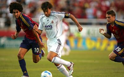 Real Salt Lake recibió en agosto de 2006 al Real Madrid en un amistoso
