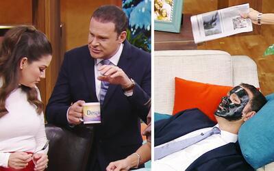 #DAEnUnMinuto: Alan fue víctima de Ana y Karla durante todo el show