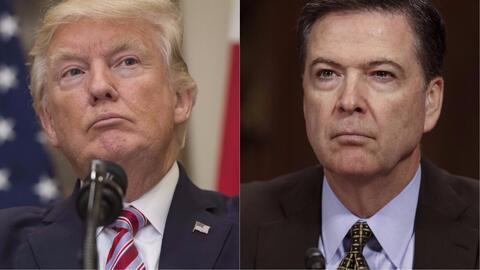 Casa Blanca dice que interpretación de conversación entre Trump y Comey...