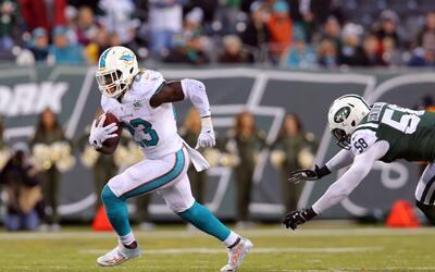 Jets vs. Dolphins: ¿Podrá Jay Ajayi con la mejor defensa contra la carrera?