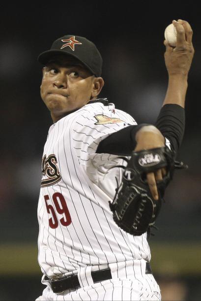RP. Wilton López. Astros de Houston. López (2-4) se adjuic...