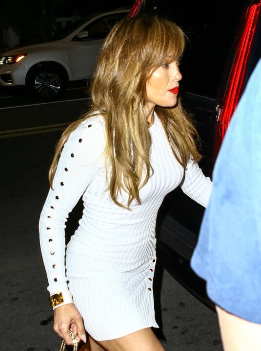 Clarissa Molina se puso un vestido igual al de Jennifer López ¿A quién l...
