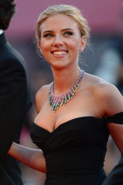 Por su parte, Scarlett Johansson no la tiene fácil en la categor&...