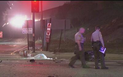 Choque de autos deja un muerto y tres heridos en Torrance