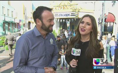 El musical de Frozen se estrena en Disneyland