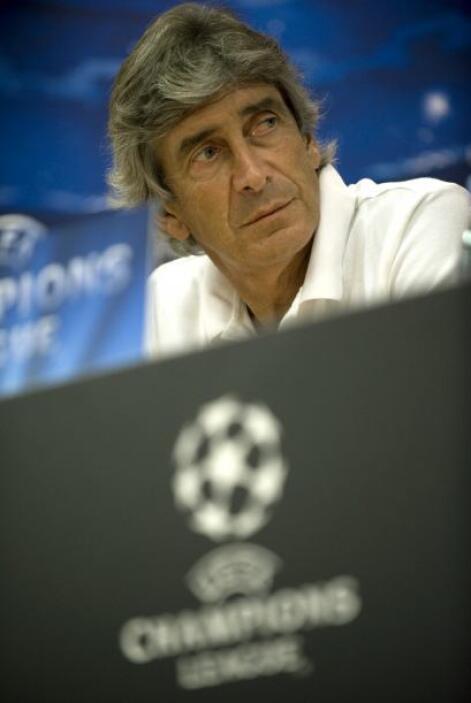 Manuel Pellegrini, en tanto, reaparecerá en una Liga de Campeones tras e...