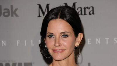 Courteney Cox y Johnny McDaid se comprometieron