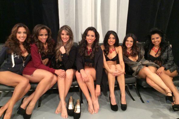 Una última foto para el recuerdo, pues algunas de estas chicas no...