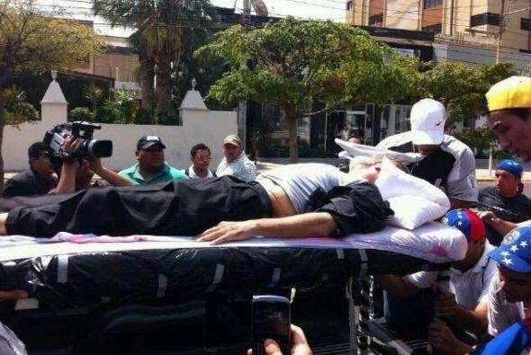 El padre Palmar, uno de los sacerdotes más conocidos de Gumilla, Caracas...