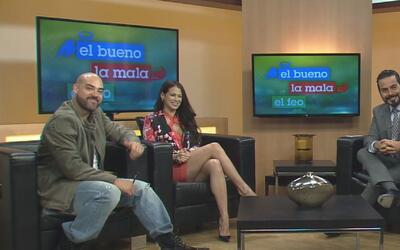 La nueva integrante de El Bueno, La Mala y El Feo visitó Univision Houst...