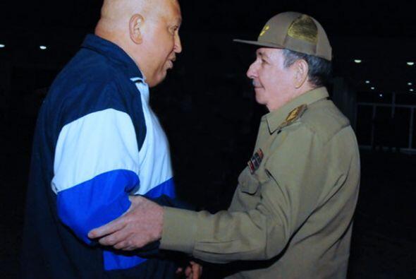 El presidente de Cuba, Raúl Castro, ha sido muy cercano al mandatario ve...