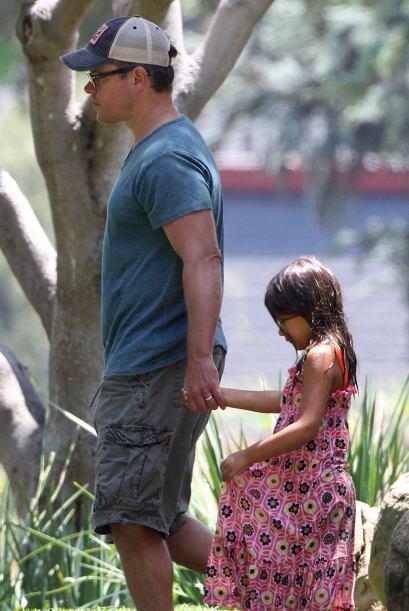 Y aunque Alexia no sea su hija biológica, el actor la quiere como...