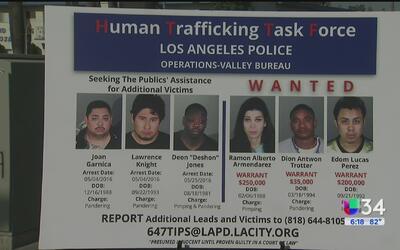 Arrestan a más de cientos de relacionados con la prostitución y el tráfi...